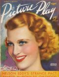 Jeanette MacDonald on the cover of Picture Play (United States) - December 1936