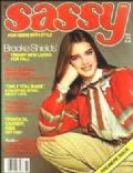 Brooke Shields on the cover of Sassy (United States) - November 1978