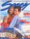 Mark Wahlberg, Mark Wahlberg and Reese Witherspoon, Reese Witherspoon on the cover of Sassy (United States) - May 1996