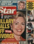 Francesca Gregorini, Hillary Rodham Clinton, Pamela Anderson, Portia de Rossi, Portia de Rossi and Francesca Gregorini on the cover of Star (United States) - November 2001