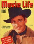 Errol Flynn on the cover of Movie Life (United States) - May 1940