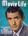 Gregory Peck on the cover of Movie Life (United States) - September 1948