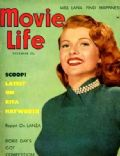 Rita Hayworth on the cover of Movie Life (United States) - December 1952