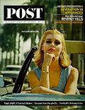 Carol Lynley on the cover of Saturday Evening Post (United States) - December 1964