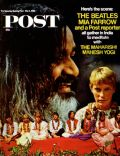 Mia Farrow on the cover of Saturday Evening Post (United States) - May 1968