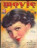 Claudette Colbert on the cover of Movie Mirror (United States) - February 1935