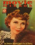 Claudette Colbert on the cover of Movie Mirror (United States) - December 1936