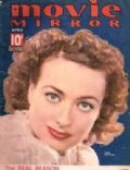 Joan Crawford on the cover of Movie Mirror (United States) - April 1937