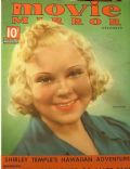 Sonja Henie on the cover of Movie Mirror (United States) - December 1937