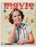 Shirley Temple on the cover of Movie Mirror (United States) - May 1938