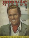 Errol Flynn on the cover of Movie Mirror (United States) - January 1940
