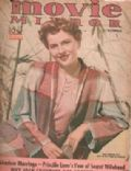 Joan Fontaine on the cover of Movie Mirror (United States) - September 1940