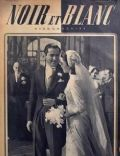 Tyrone Power on the cover of Noir Et Blanc (France) - February 1949