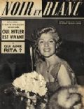 Rita Hayworth on the cover of Noir Et Blanc (France) - May 1951
