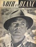Gary Cooper on the cover of Noir Et Blanc (France) - June 1951