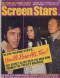 Elvis Presley on the cover of Screen Stars (United States) - April 1973