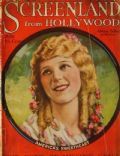 Mary Pickford on the cover of Screenland (United States) - July 1923