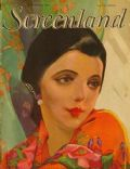 Jetta Goudal on the cover of Screenland (United States) - September 1927
