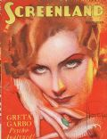 Greta Garbo on the cover of Screenland (United States) - November 1929