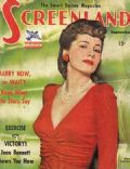 Joan Fontaine on the cover of Screenland (United States) - September 1942