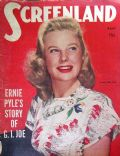 June Allyson on the cover of Screenland (United States) - April 1945