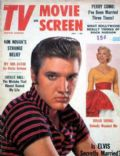 Elvis Presley on the cover of TV and Movie Screen (United States) - July 1958