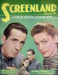 Humphrey Bogart, Lauren Bacall, Lauren Bacall and Humphrey Bogart on the cover of Screenland (United States) - September 1948