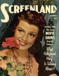 Rita Hayworth on the cover of Screenland (United States) - October 1948