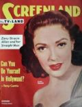 Linda Darnell on the cover of Screenland (United States) - December 1952