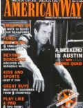 Dennis Quaid on the cover of American Way (United States) - May 2000
