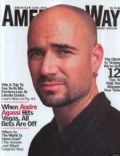 Andre Agassi on the cover of American Way (United States) - March 2004