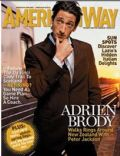 Adrien Brody on the cover of American Way (United States) - January 2005
