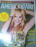 Sharon Stone on the cover of American Way (United States) - April 2006