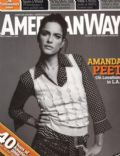 Amanda Peet on the cover of American Way (United States) - September 2006