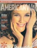 Drew Barrymore on the cover of American Way (United States) - February 2007
