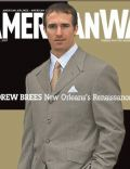 Drew Brees on the cover of American Way (United States) - September 2007