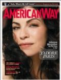 Julianna Margulies on the cover of American Way (United States) - December 2007
