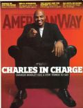 Charles Barkley on the cover of American Way (United States) - April 2008