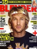 Owen Wilson on the cover of Blender (United States) - August 2006