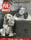Rita Hayworth on the cover of Point De Vue (France) - May 1949