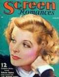 Katharine Hepburn on the cover of Screen Romances (United States) - August 1933