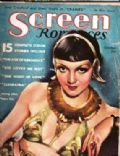Claudette Colbert on the cover of Screen Romances (United States) - October 1934