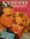 on the cover of Screen Romances (United States) - April 1937