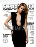 Amber Lancaster on the cover of Steppin Out (United States) - April 2011