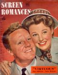 June Allyson, Van Johnson, Van Johnson and June Allyson on the cover of Screen Romances (United States) - February 1948