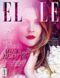 Drew Barrymore on the cover of Elle (Indonesia) - August 2013