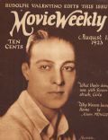 Rudolph Valentino on the cover of Movie Weekly (United Kingdom) - August 1923