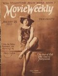 Clara Bow on the cover of Movie Weekly (United Kingdom) - August 1923