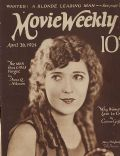Mary Pickford on the cover of Movie Weekly (United Kingdom) - April 1924