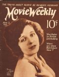 Betty Jewel, Edwin Bower Hesser on the cover of Movie Weekly (United Kingdom) - May 1924